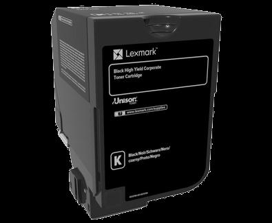 LEXMARK 74C3SYE TONER BLACK CS720 CS725 CX725