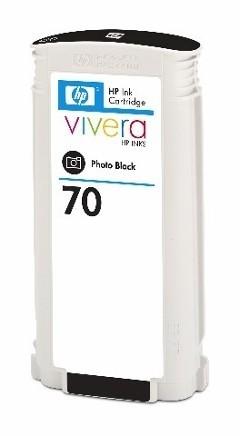 HP 70 Tinte schwarz Foto Z2100 Z3100 Z5200 HP Vivera Tinte C9449A