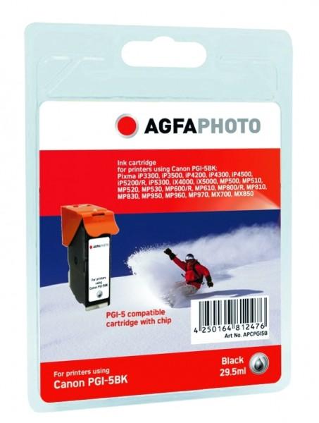 AGFAPHOTO CPGI5B Canon MP800 Tinte black