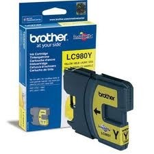 Brother Tintenpatrone Yellow LC980Y für DCP145C MFC295C