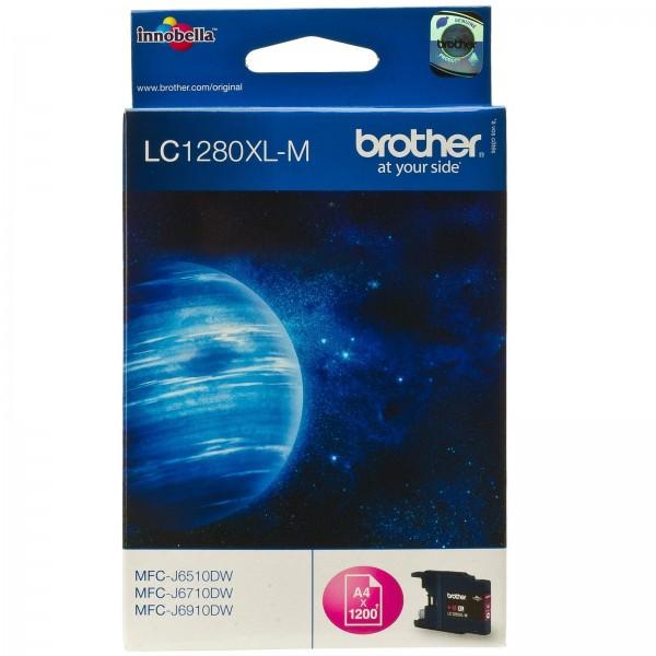 Brother LC1280XL Tinte Magenta MFC-J6510DW MFC-J6710DW MFC-J6910DW