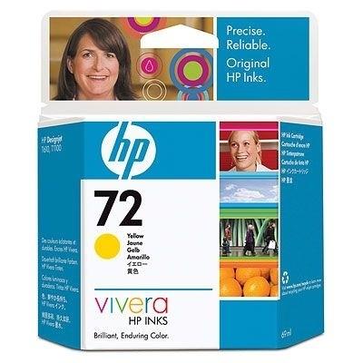 HP 72 Tinte gelb für DesignJet T1100 T1200 C9400A
