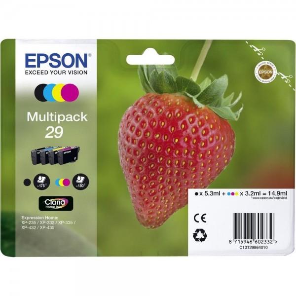 Epson Tinte Erdbeere 29 Claria Home Multipack 29 - 4er-Pack