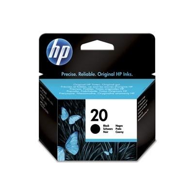 HP 20 Tinte Black DJ610 Fax 925XI No.20