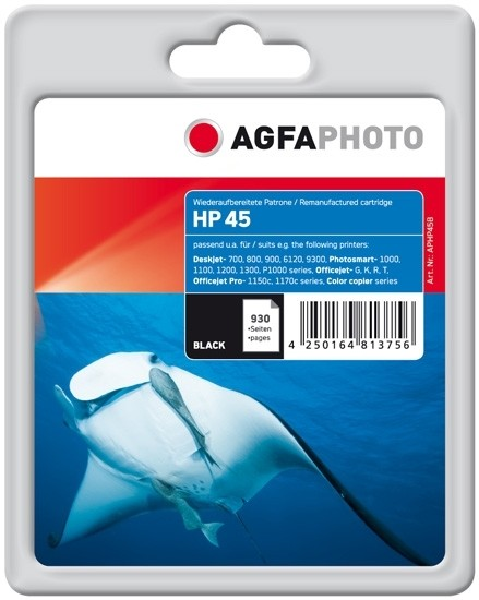 AGFAPHOTO AGHP45B HP.DJ710C Tinte Black