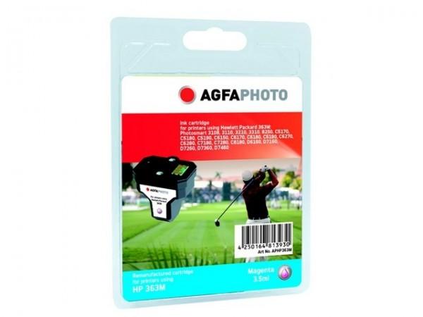 AGFAPHOTO HP363M HP PS8250 Tinte Magenta