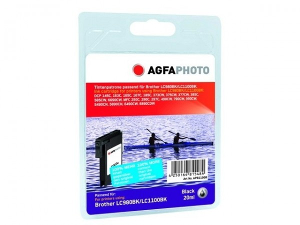 AGFAPHOTO APB1100BD Brother Tinte für MFC-790 Black