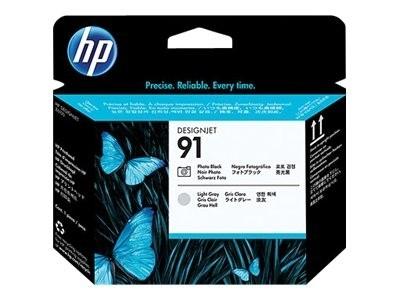 HP 91 Druckkopf Foto Schwarz / Grau hell für DesignJet Z6100