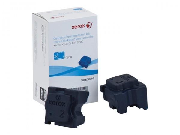XEROX ColorQube 8700 Festtinte STIX 2 Cyan Solid Ink