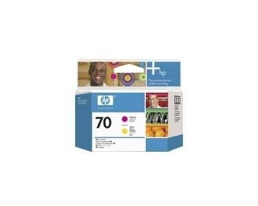 HP 70 Druckkopf Yellow + Magenta für DesignJet Z2100 C9406A