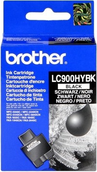 Brother Tintenpatrone HC Schwarz LC900HYBK MFC 3240C 3340CN Fax 1835C