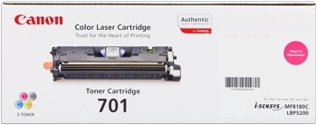 Canon 701 Toner Cartridge Magenta LBP5200 MF8180 9285A003