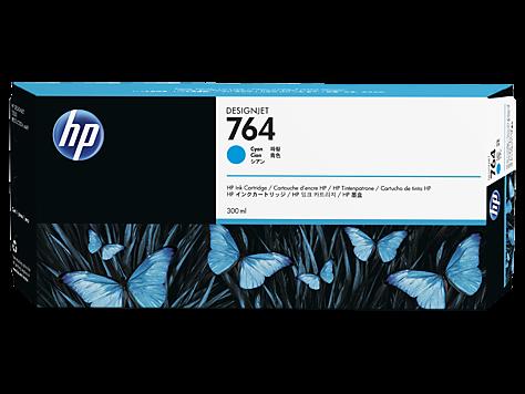 HP 764 Tinte Cyan DesignJet T3500