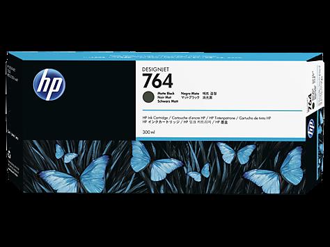 HP 764 Tinte matt schwarz DesignJet T3500