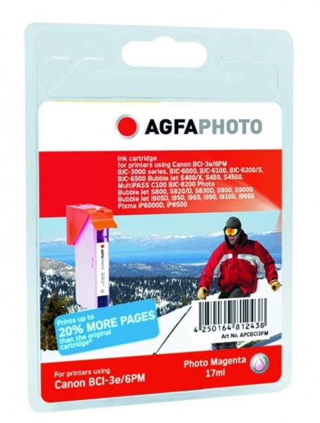 AGFAPHOTO CBCI3PM Canon BJC-6000 Tinte photo magenta