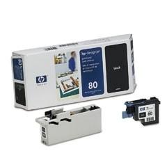 HP 80 Druckkopf Black für DesignJet 1050C 1055CM incl. Druckkopfreiniger