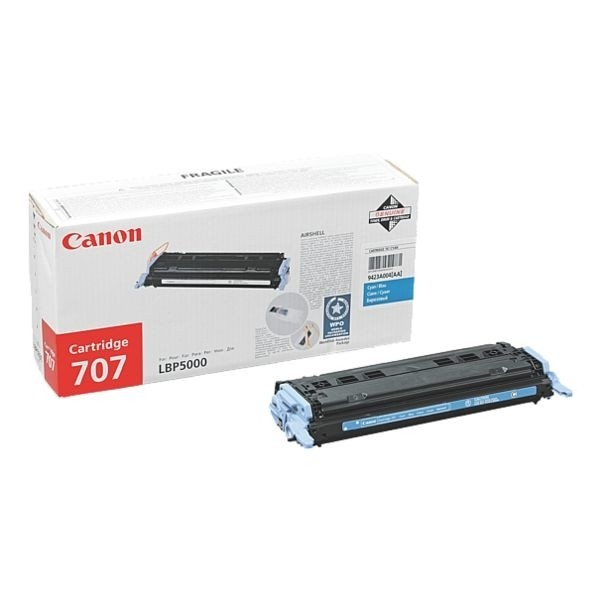 Canon 707 Toner Cartridge Cyan LBP500 LBP5100 9423A004