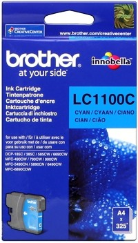 Brother Tintenpatrone Cyan LC1100C