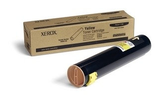 XEROX Phaser 7760 PH7760 Toner Yellow Hochleistungs-Tonerpatrone