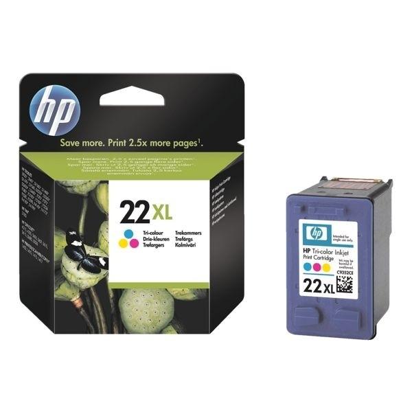 HP 22XL Tintenpatrone Tri-color No.22XL
