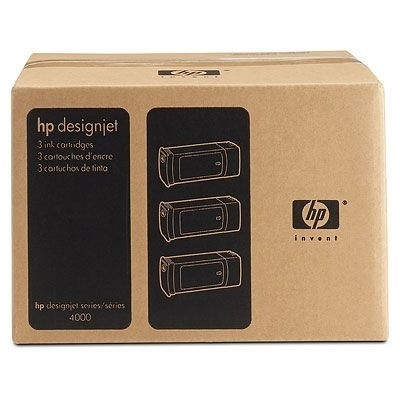 HP 90 Tintenpatronen Gelb 3er Pack für DesignJet 4000 4500 4020 4520