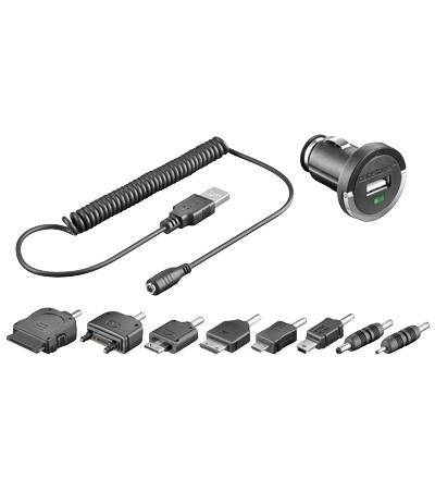 Cabstone USB Lade-Adapter Set 12V/24V