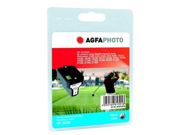 AGFAPHOTO HP363B HP PS8250 Tinte Black