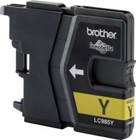 Brother Tintenpatrone Yellow LC985C DCP-J125 DCP-J140 DCP-J315