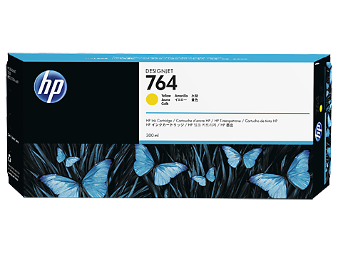 HP 764 Tinte Yellow DesignJet T3500