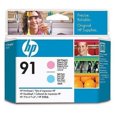 HP 91 Druckkopf Magenta hell / Cyan hell für DesignJet Z6100