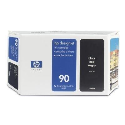 HP 90 Tinte Black 400ml für DesignJet 4000 4500 4020 4520