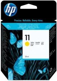 HP 11 Tinte Yellow für Business InkJet 2200 2250 Color InkJet 1700 2600