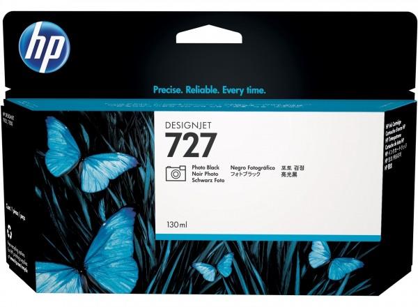 HP 727 Tinte Foto Schwarz für DesignJet T920 T1500 T2500 B3P23A