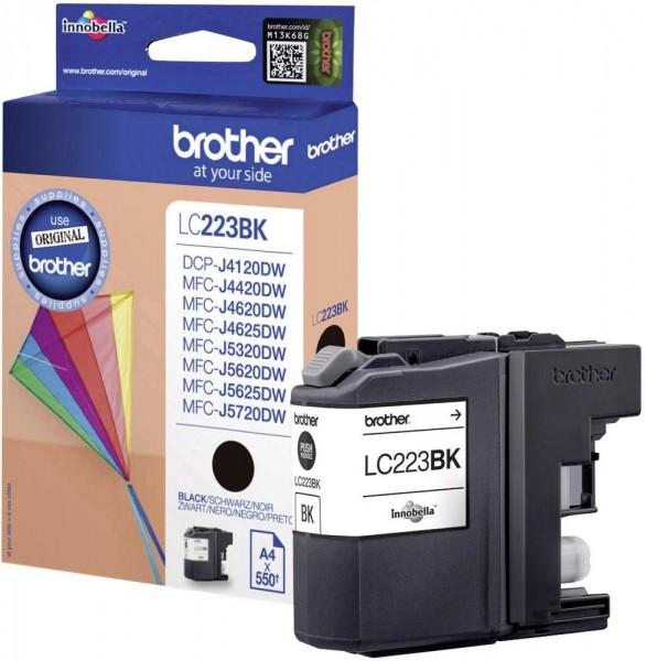 Brother LC-223BK Tinte Black Original MFC-J5720DW MFC-J4420DW